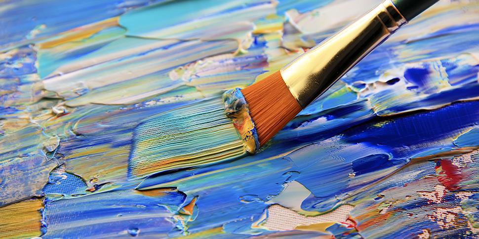 アクリル絵具の処理方法