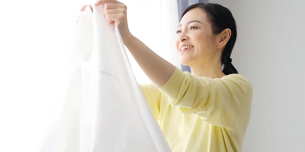 日々の洗濯の手間を、お湯の温度で軽減しよう